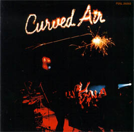 """Curved Air Live"" 1975"