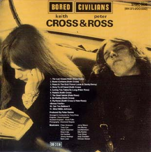 Keith Cross and Peter Ross